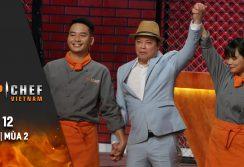 Top Chef Việt Nam Tập 12 | Mùa 2 | Đẳng Cấp Fine Dining Với Nguyên Liệu Cá Tầm, Ai Sẽ Chiến Thắng?